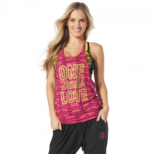 One Zumba Love Bubble Tank