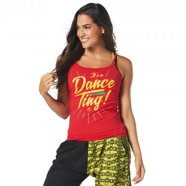 It is a Dance Ting Spaghetti Tank
