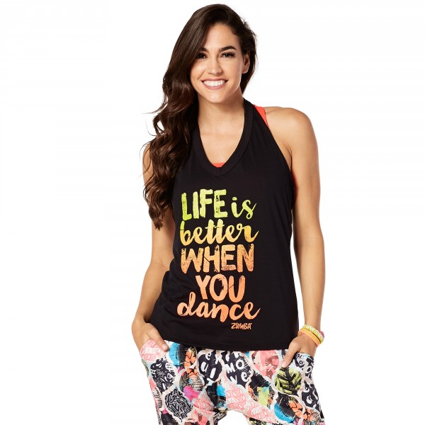 When You Dance Halter Tank