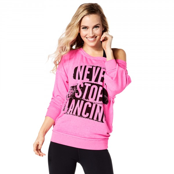 Never Stop Dancing Pullover