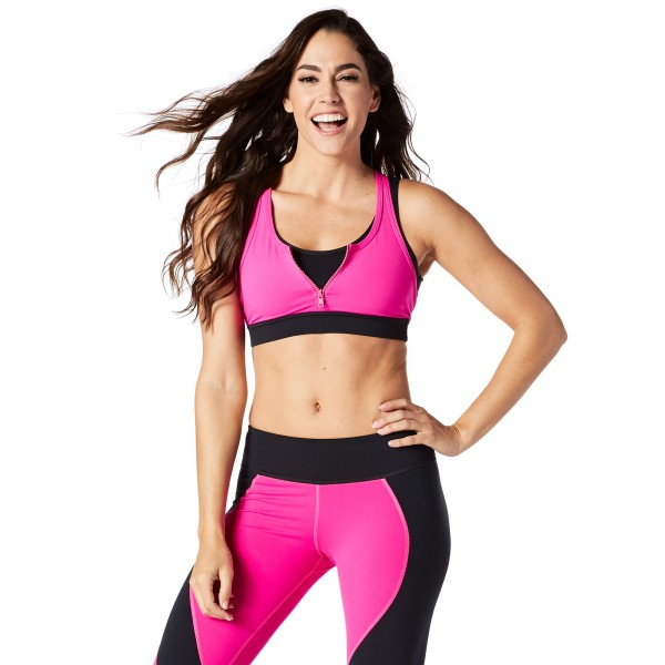 Team Zumba Zip Bra
