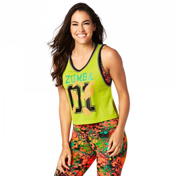 Zumba Queen Cropped Jersey