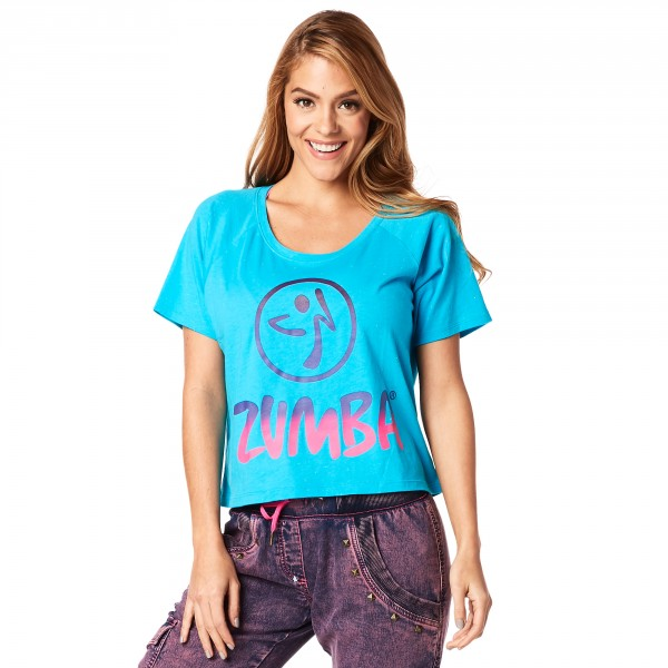 Zumba Vibes Cropped Tee