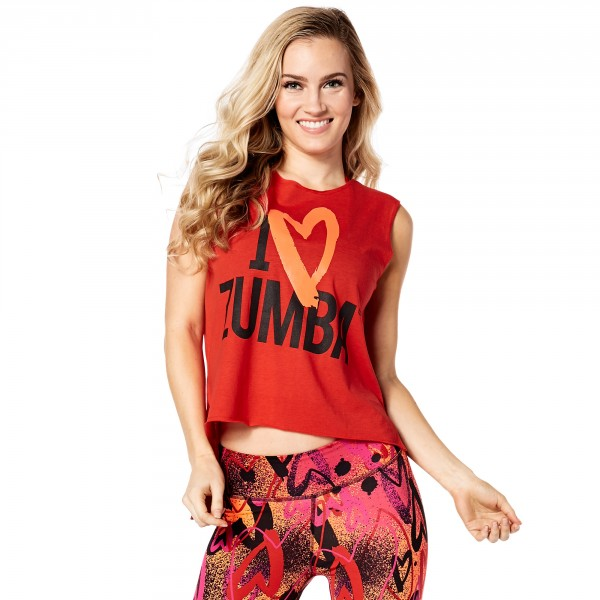 Zumba Love Slashed Tee