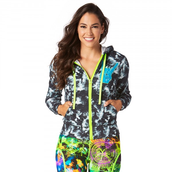 Rock Out Instructor Zip Up Hoodie