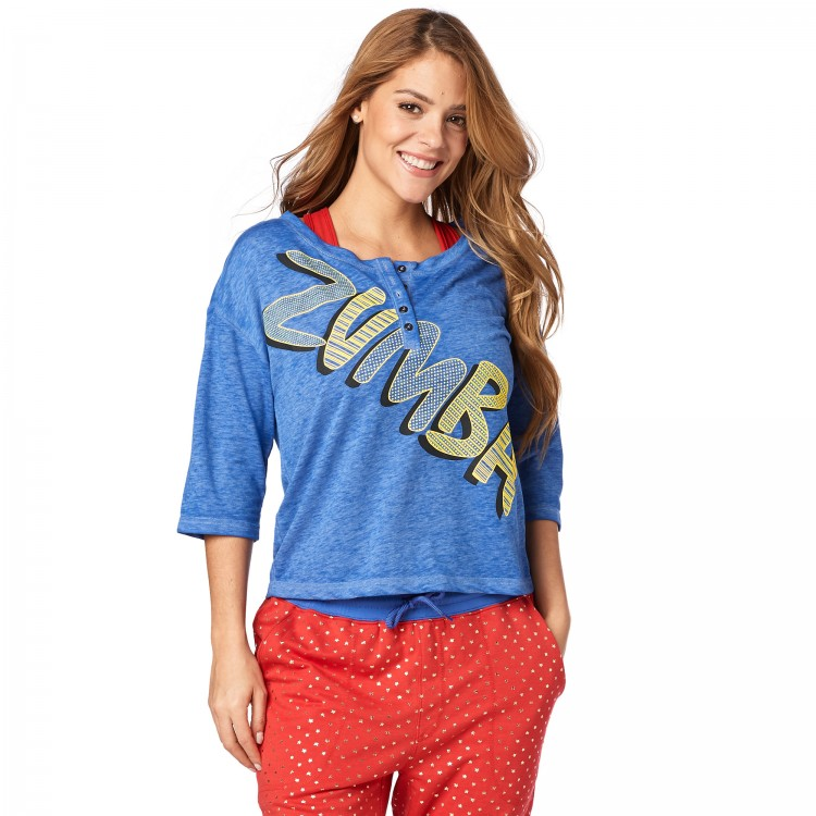 Zumba Power Baseball Tee
