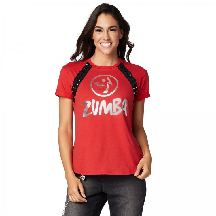 Zumba Lace It Up Top