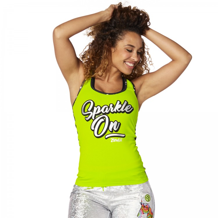 Sparkle On Racerback