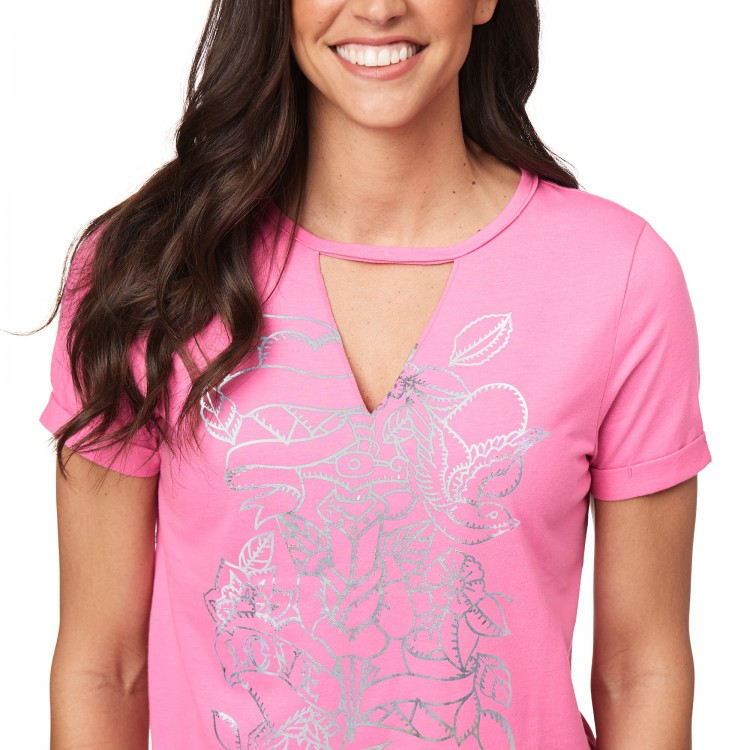 Zumba Love V Cut Out Top