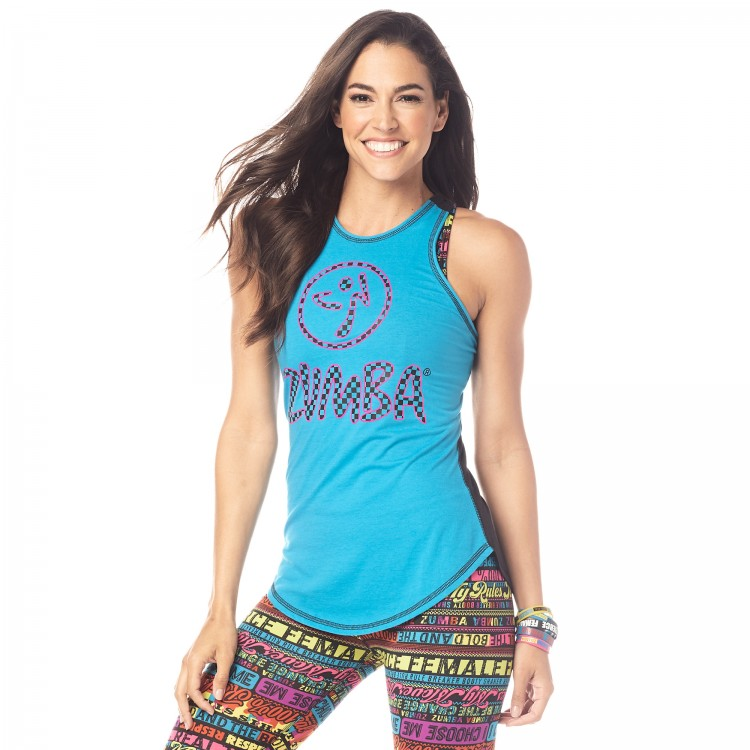 Live Bold Dance Bold High Neck Tank