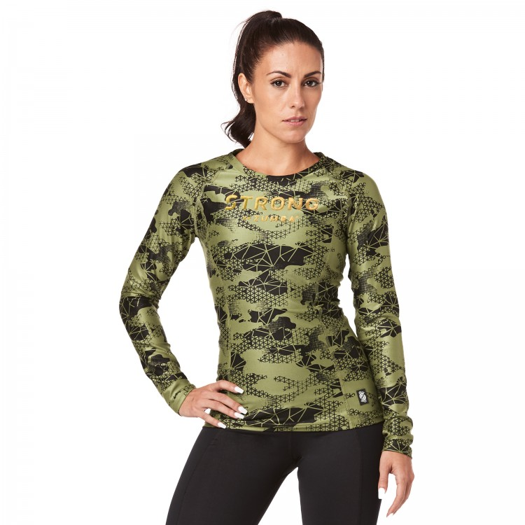 Strong By Zumba Long Sleeve Top - ELÕRENDELÉS