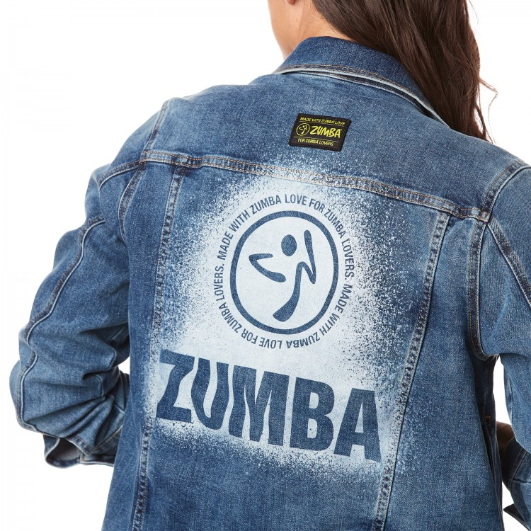 Made With Zumba Love Denim Jacket