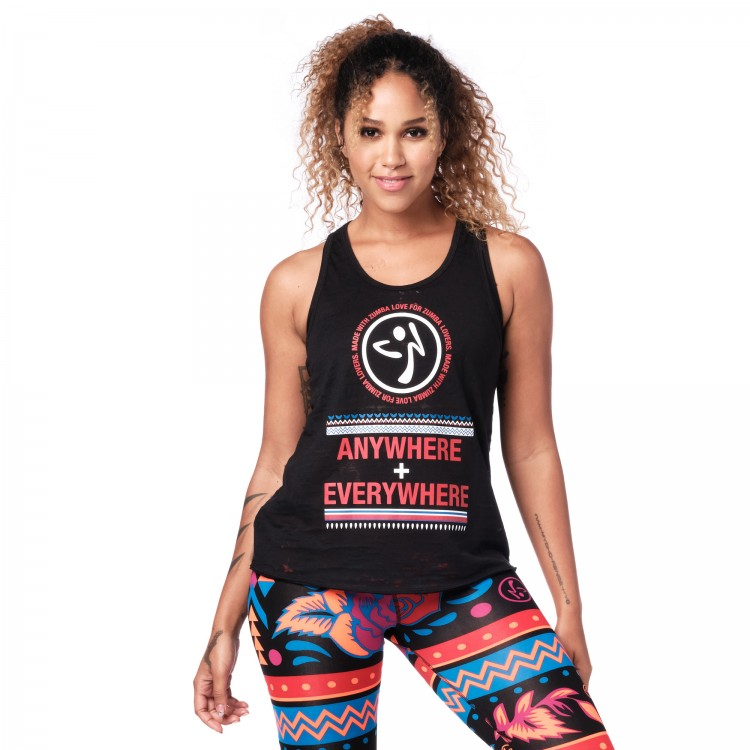 Zumba Everywhere Tank