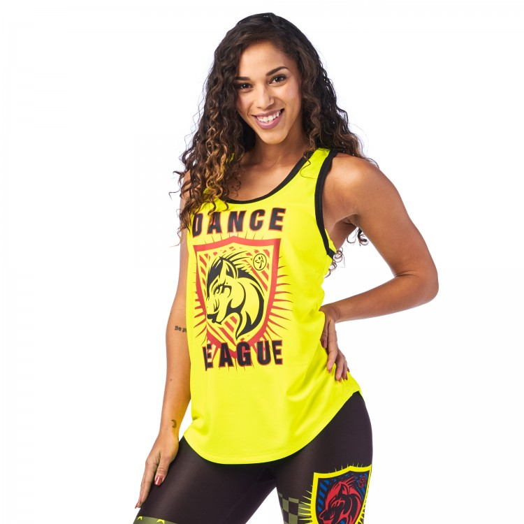 Zumba Dance League Jersey Tank