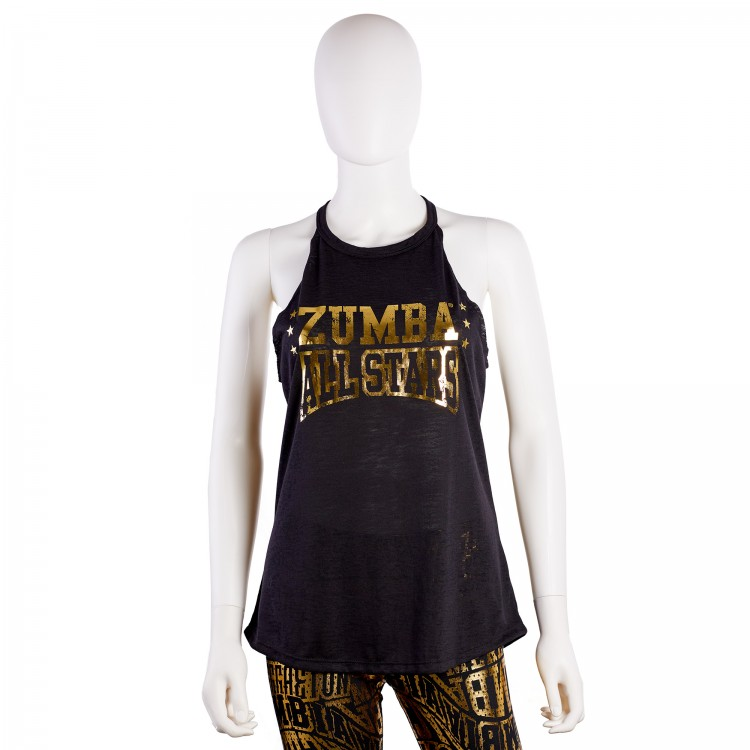 Zumba All Stars High Neck Tank