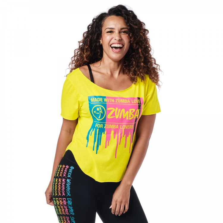 For Zumba Lovers Tulip Top