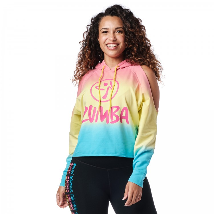Zumba Dreamer Cold Shoulder Sweatshirt