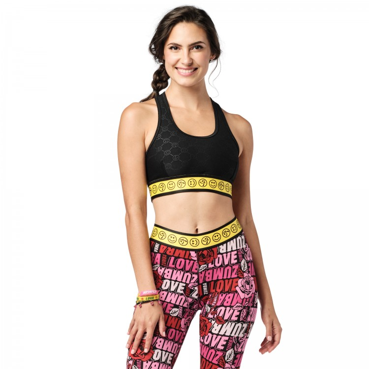 Zumba Smile Scoop Bra