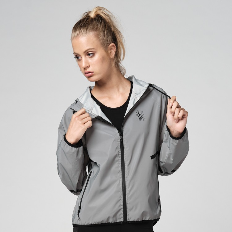 Reflective Zip-Up Jacket