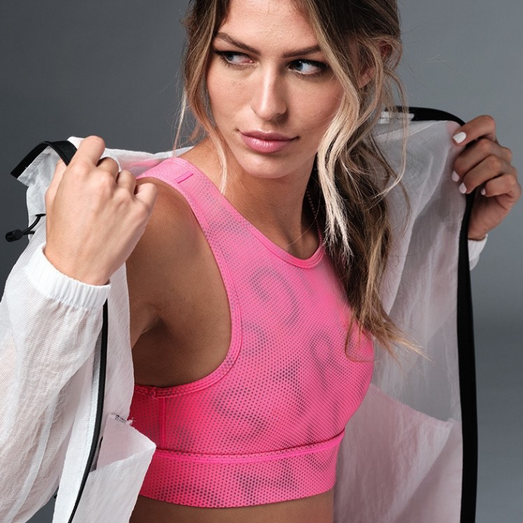 Laser Scoop Bra Top