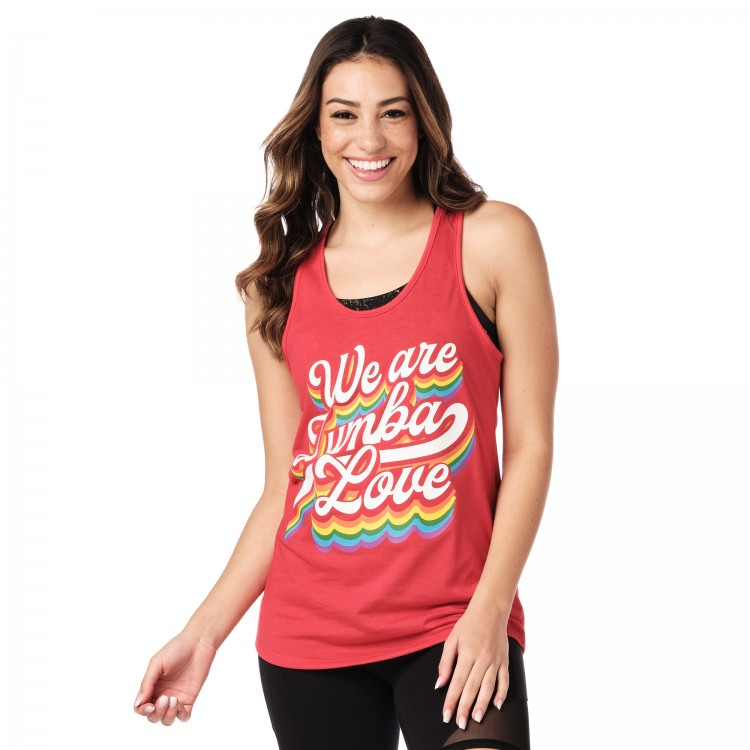 We Are Zumba Love Tank