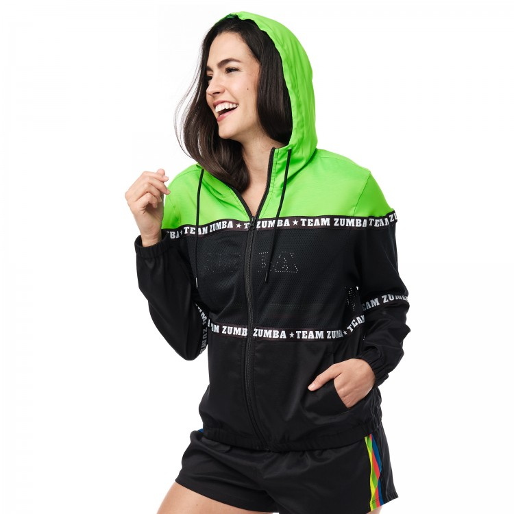 Team Zumba Mesh Insert Jacket