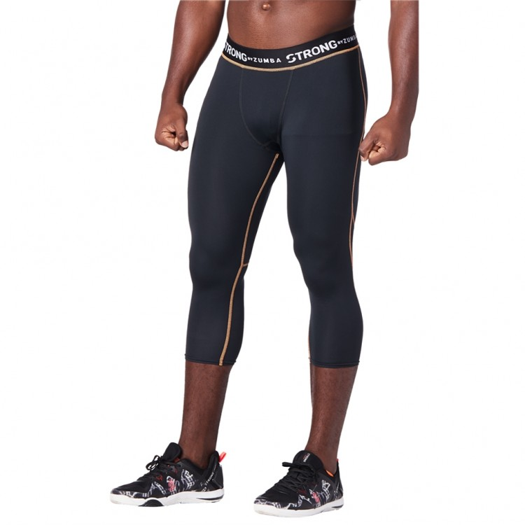 Squat Sync Sweat Mens Crop Leggings - ELŐRENDELÉS