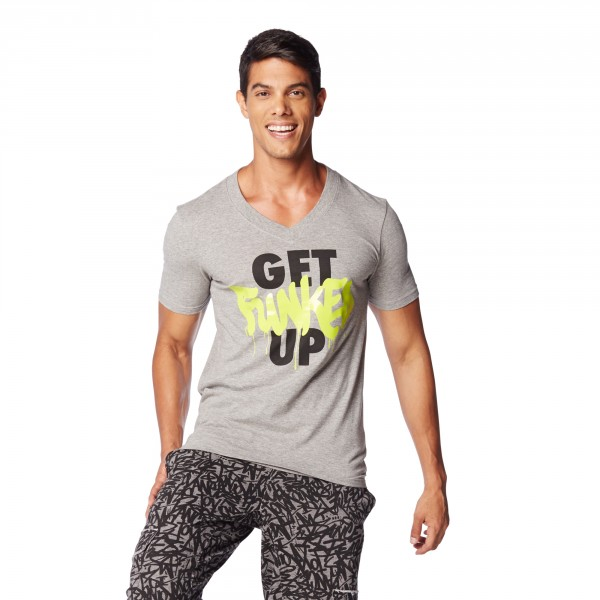 Get Funked Up V Neck