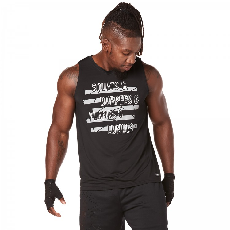 Squat & Burpees Mens Tank - ELÕRENDELÉS