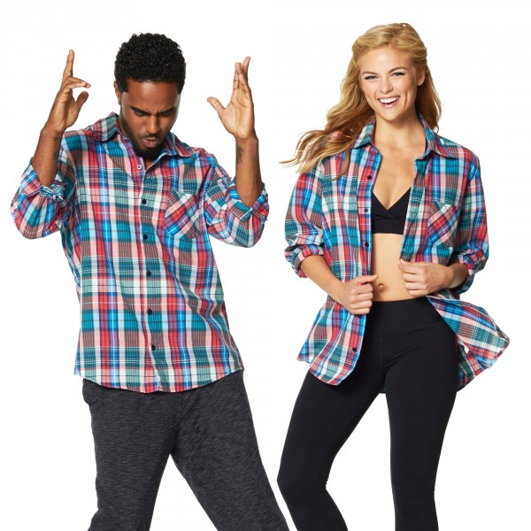 Zumba Crazy Happy Flannel