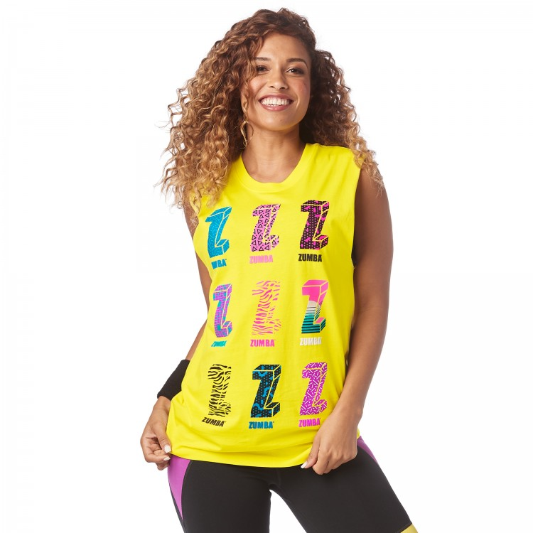 I Want My Zumba Muscle Tank