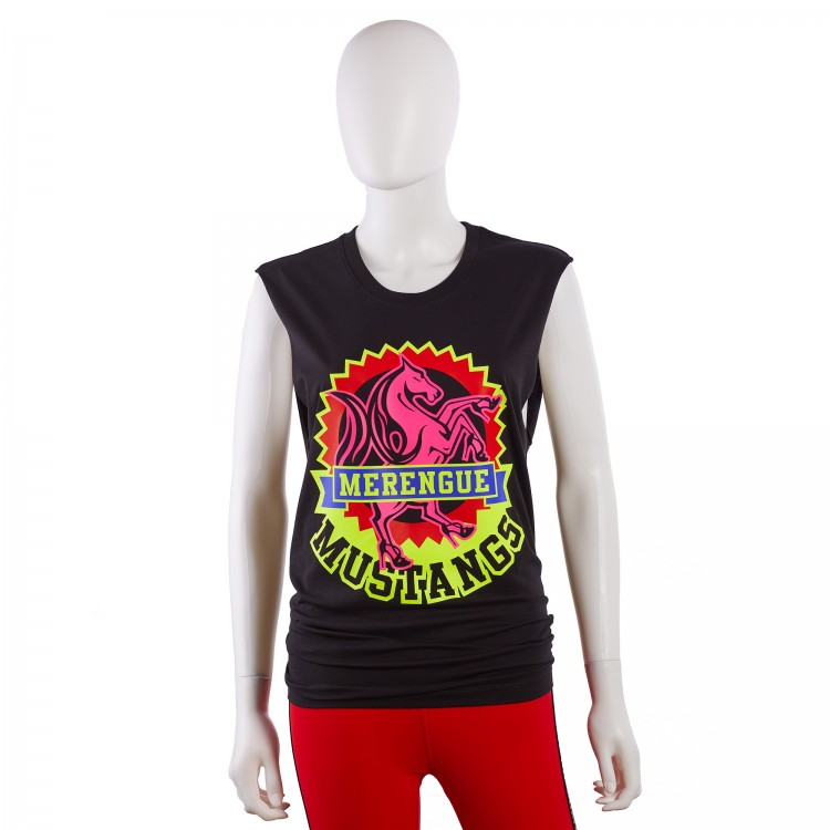 Merengue Mustangs Muscle Tank