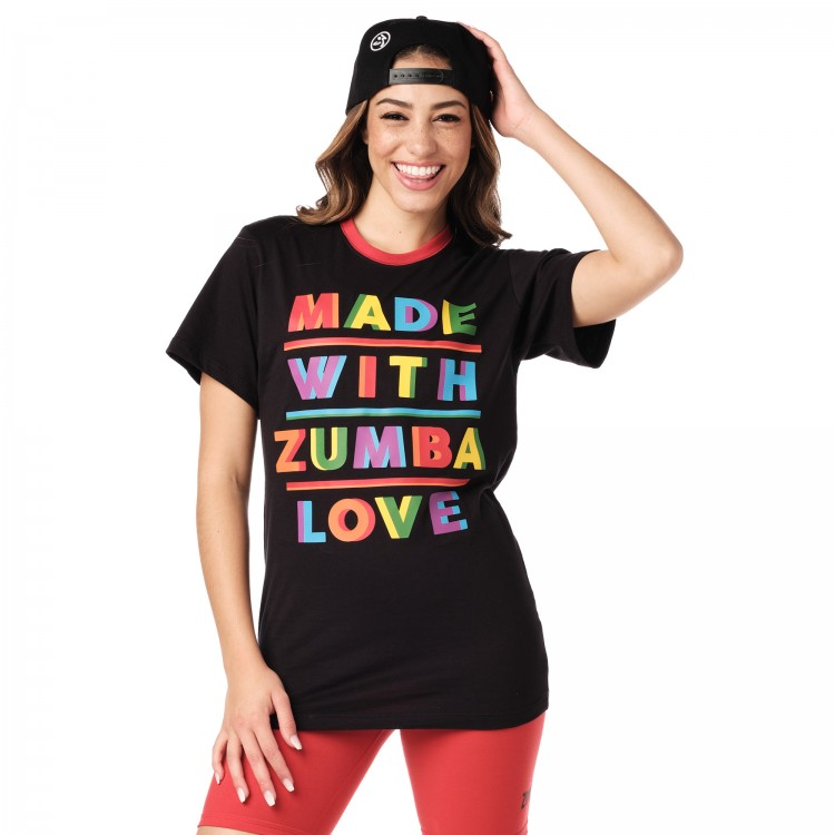 Made With Zumba Love Tee